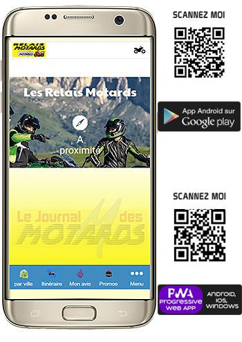 relais motards journal des motards appli