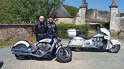 INDIAN 3 essais express ! Scout, Roadmaster et Chieftain