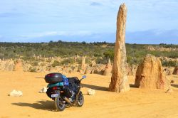 _Australie à moto. the pinnacles national park