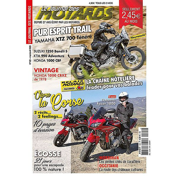 LE JOURNAL DES MOTARDS n°122 – mars/avril 2020
